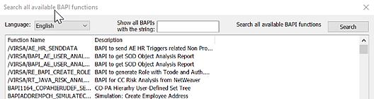 Using the SAP BAPI Connector ‒ Qlik Connectors