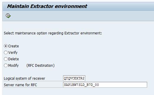 SAP Extractor Connector configuration ‒ Qlik Connectors