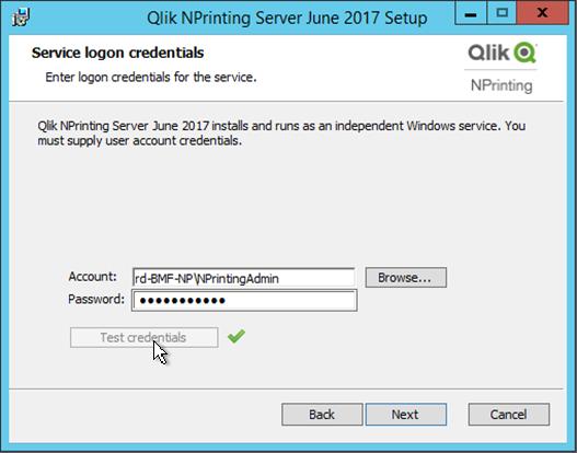 Installing Qlik NPrinting Server ‒ Qlik NPrinting
