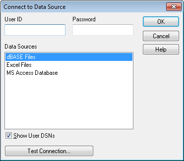 Connect to Data Source ‒ QlikView