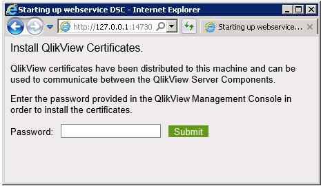 Certificate Trust ‒ QlikView