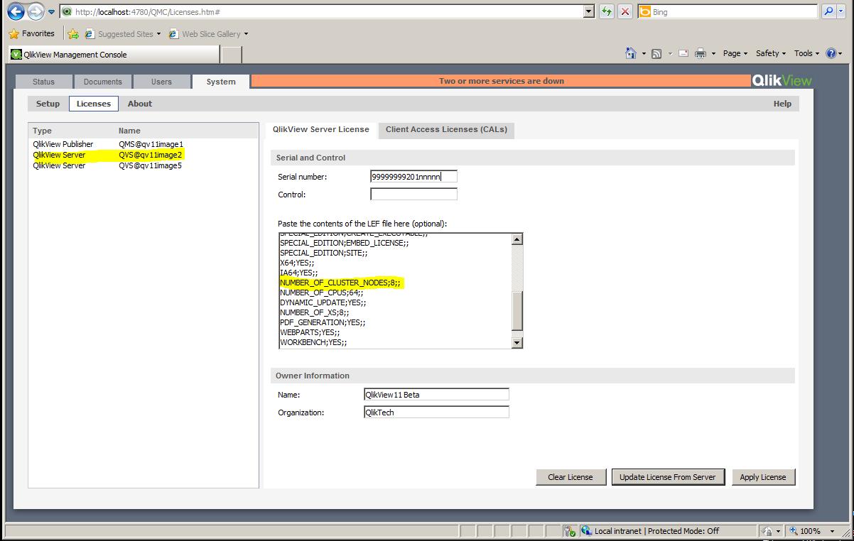 qlikview 11 crack license key