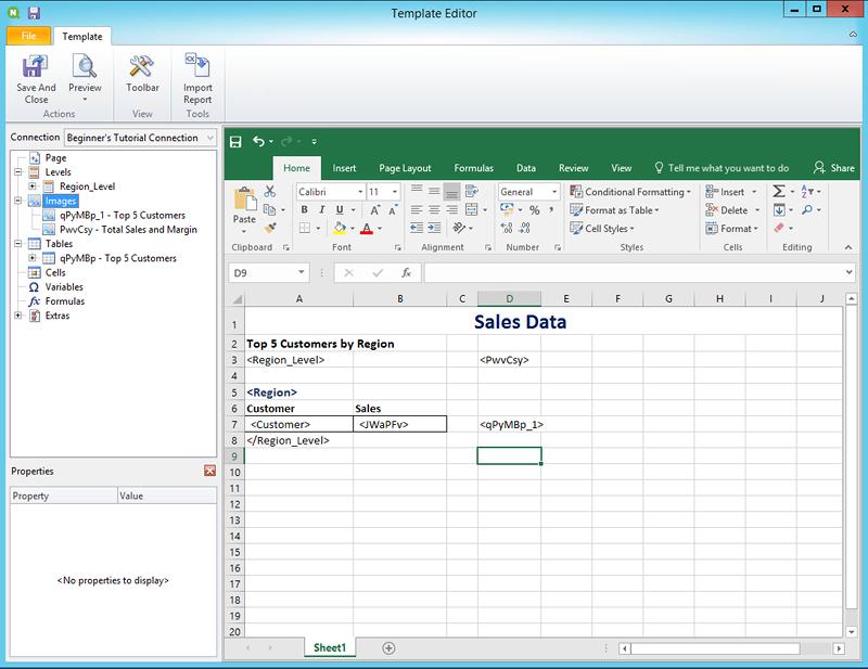 Publicar un informe sencillo desde una app de Qlik Sense ‒ Qlik ...